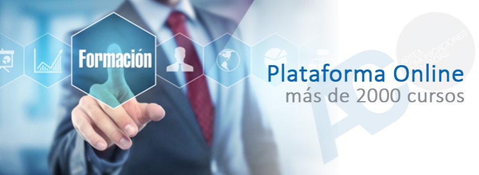 Plataforma formación online Arte y Comunicaciones Avanzadas